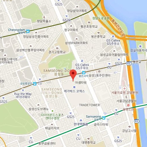 Direction to the: COEX Convention & Exhibition Center
