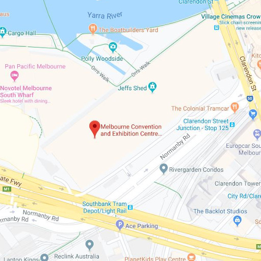 Direction to the: Melbourne Convention and Exhibition Centre (MCEC)