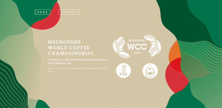 Melbourne World Coffee Championships, WCC - November 2020