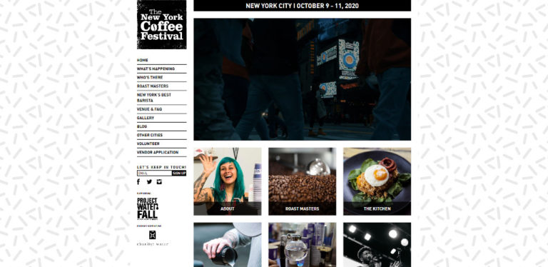 The New York Coffee Festival - October 2020