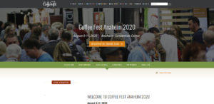 Cancelled - Coffee Fest Anaheim - August 2020