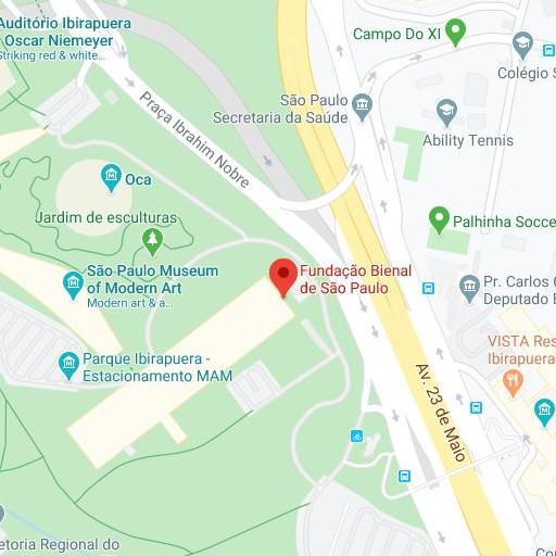 Direction to the: Fundação Bienal de São Paulo