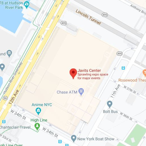 Direction to the: Javits Center