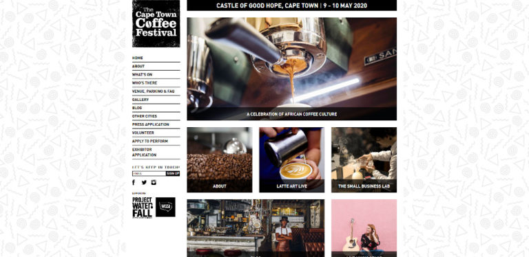 The Cape Town Coffee Festival - September 2020