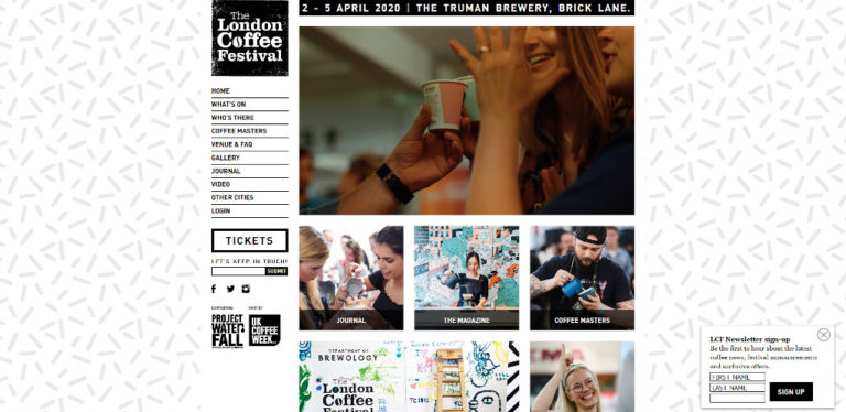 The London Coffee Festival - April 2021