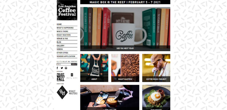 The Los Angeles Coffee Festival - February 2021