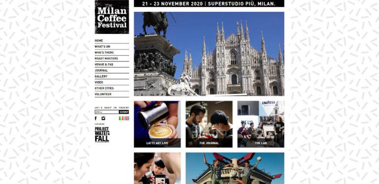 Milan Coffee Festival - November 2020