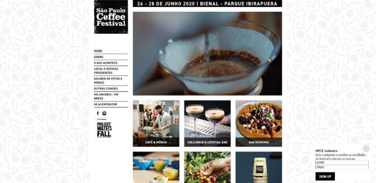 Sao Paulo Coffee Festival - June 2020